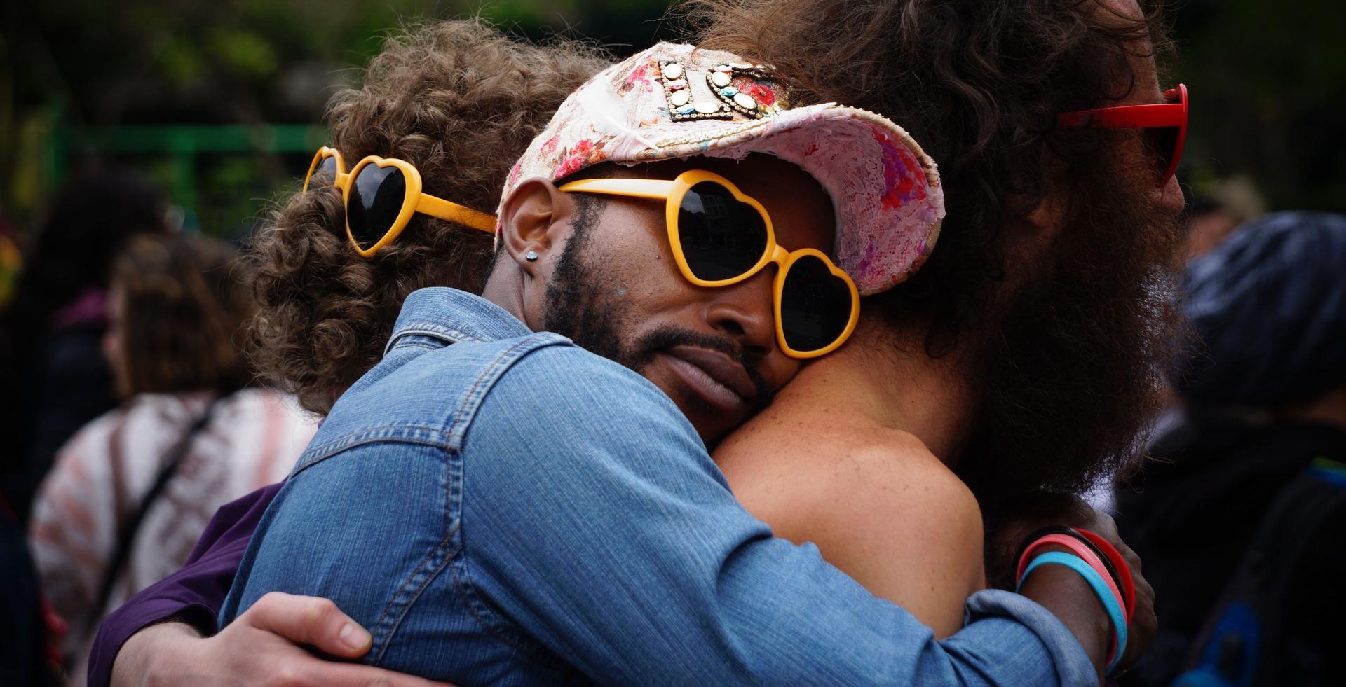 Backward hug